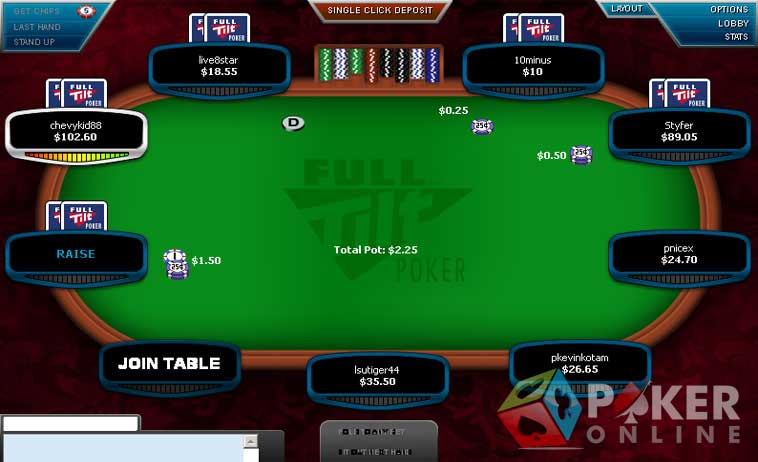 full tilt poker contact