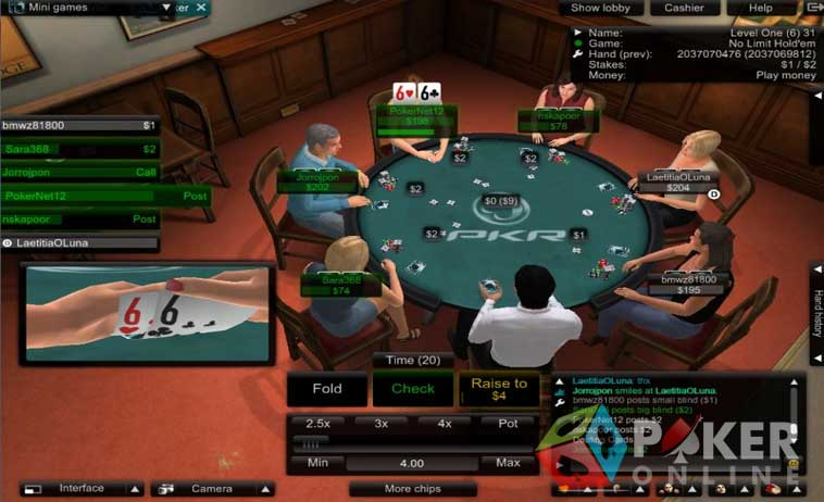 Poker pkr online