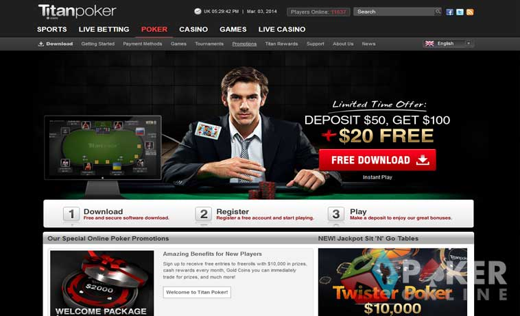 Poker online review