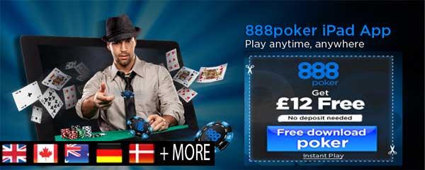 iPad Mobile Poker