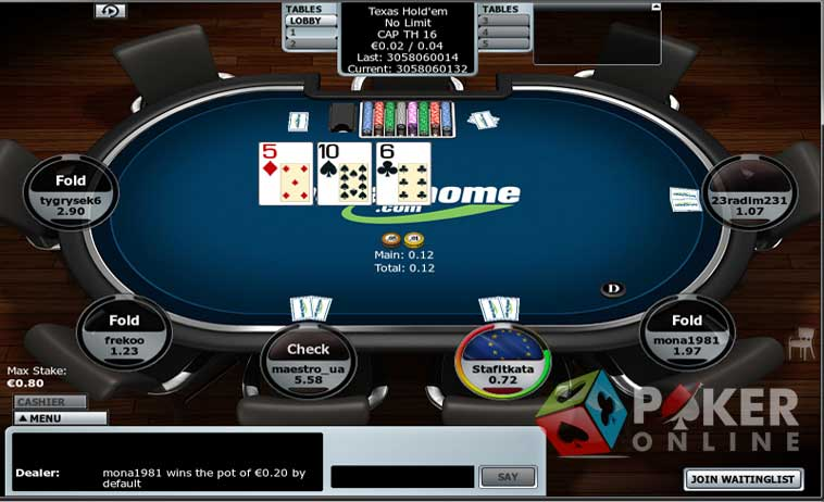 Bet At Home Poker
