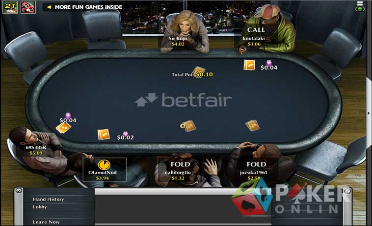 poker betfair