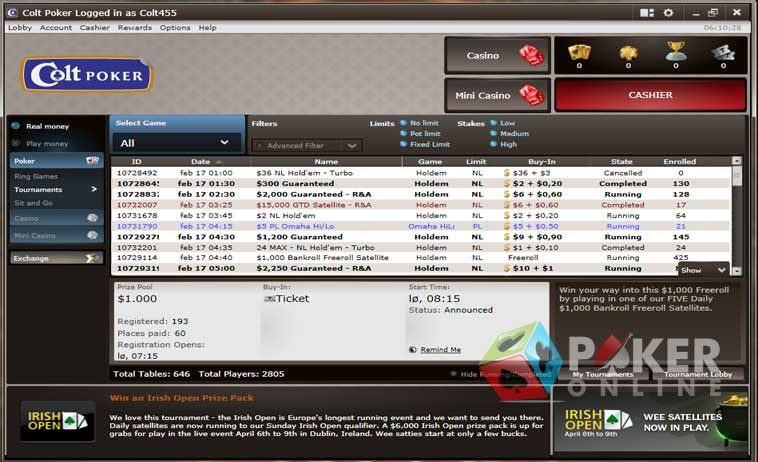 Usa online poker sites 2018