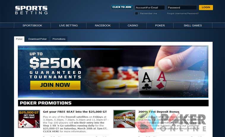 Sportsbetting poker login caen marseille betting advice