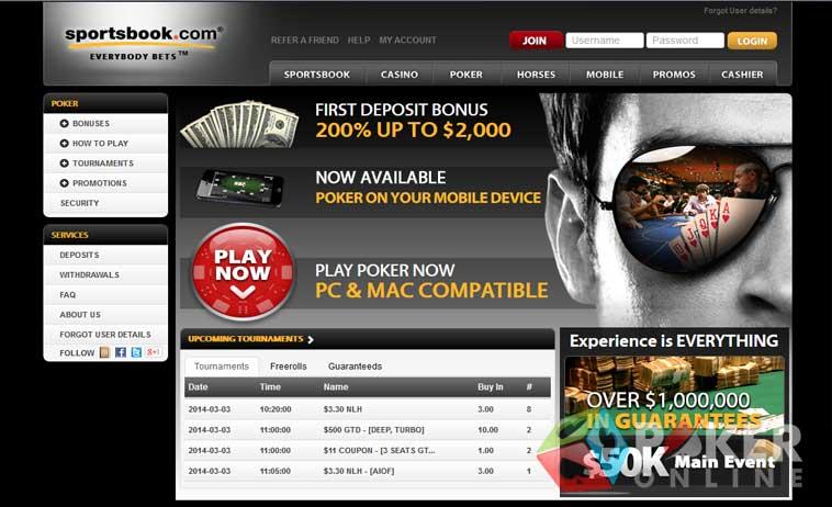 Sportsbook casino poker blue point casino