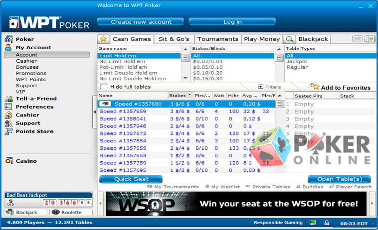 wpt online poker review