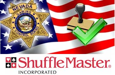 Nevada Approves Shuffle Master's Application