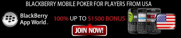 Blackberry poker for players from USA