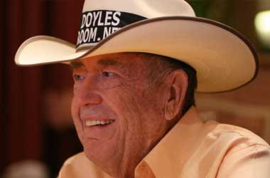 Poker Hall of Famer Doyle Brunson Fights Cancer