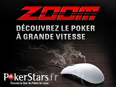 PokerStars.fr Launches Real Money Zoom Poker