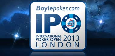 Ten Players Will Win an Extra £500 Each In The IPO London 2013