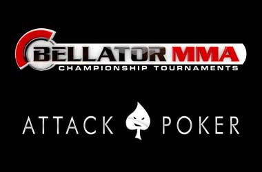 Bellator MMA And Attack Poker Sign Partnership Agreement