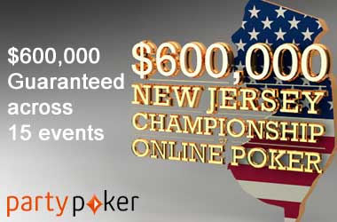 New Jersey Championship of Online Poker Puts $600K Up As Prize Money