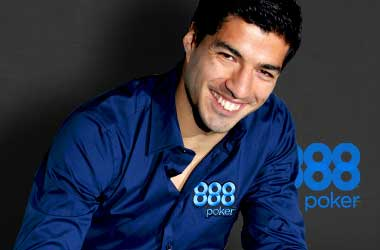 888 Poker To Review Their Sponsorship With Uruguay Striker Luis Suarez