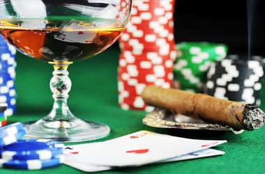 Do Professional Poker Players Have Higher Alcoholic Consumption Rates