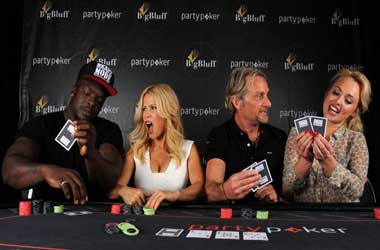 New partypoker Big Bluff Challenge To Showcase Celebrity Poker Novices