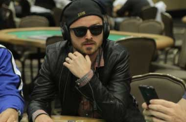 Breaking Bad's Aaron Paul Beats Fabrice Soulier In His GPL Debut Game