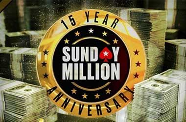 Pokerstars Sunday Million Celebrates 15 Years With $12.5M GTD